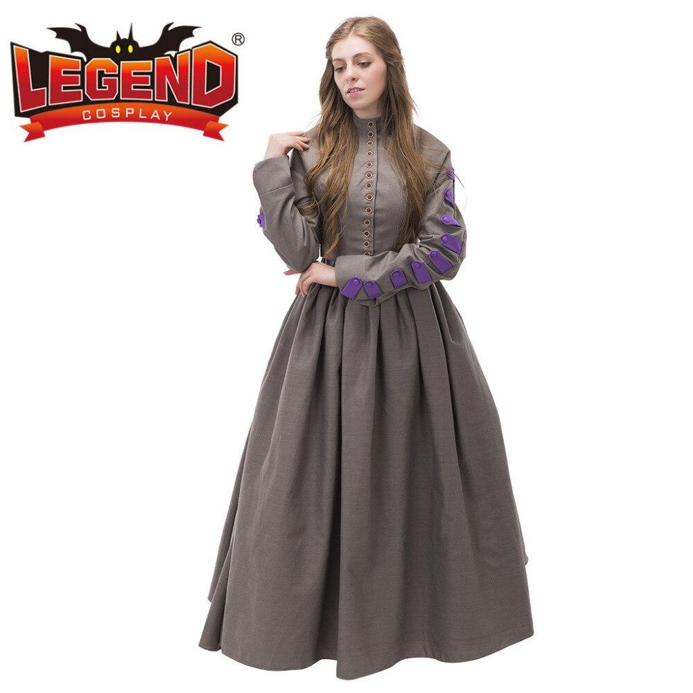 Vintage Bürgerkrieg Viktorianische Tag Kleid Kleid Baumwolle ...