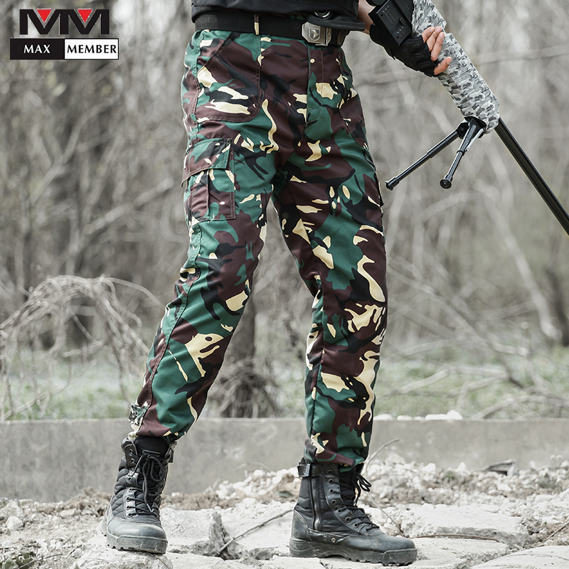 Tactical Pants Men Wear-resistant Military Training Camouflage Pants Summer Special Forces Outdoor Training Trousers Large Size image