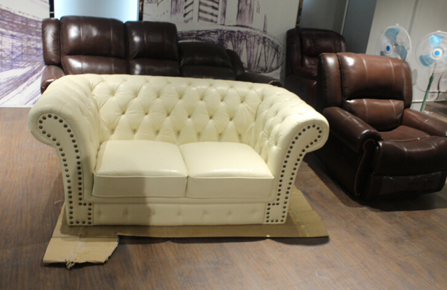 Sofa Set Living Room Furniture With Genuine Leather Sofa Modern