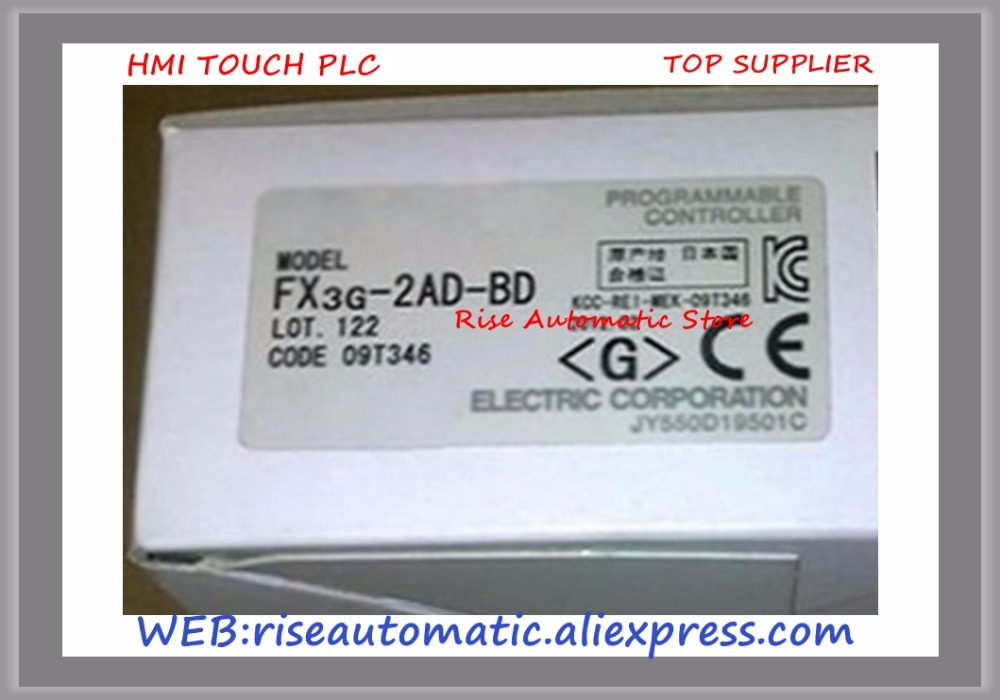 все цены на  New Original Programmable Logic Controller FX3G-2AD-BD PLC Expansion Board 0-10VDC  онлайн