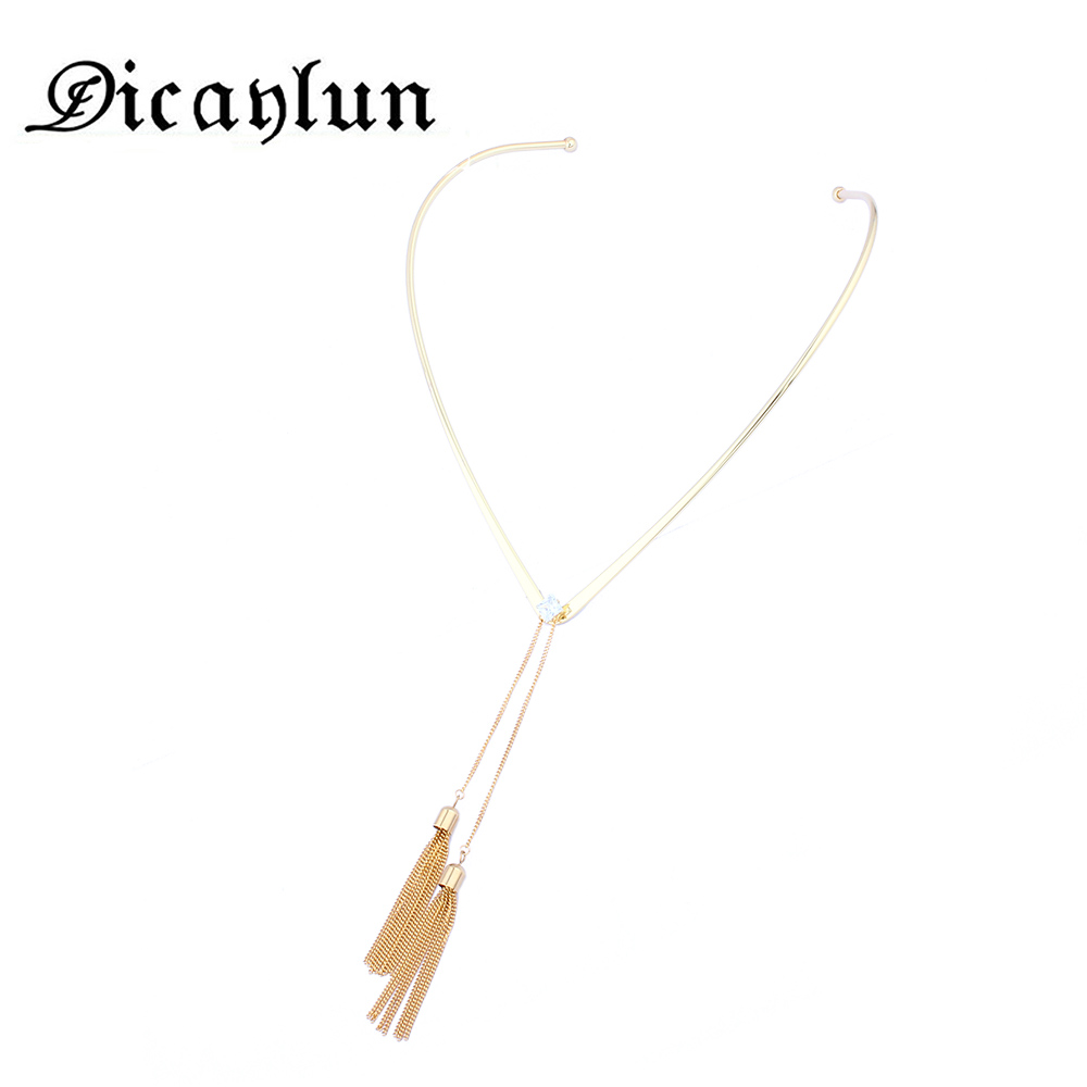DICAYLUN women's clothing & accessoriesnecklaces & pendants collares valentines day gift fashion jewelry stainless steel chain