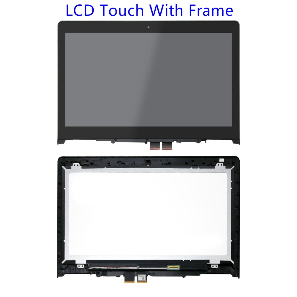 14FHD HD LCD Touch Screen Glass Panel Assembly Bezel For Lenovo Flex 3 14 Flex 3-14 80JK 80R3 80JK0020US 80R30009U 80R30017US 14 touch screen glass lcd digitizer assembly with bezel for lenovo flex 3 14 flex 3 1470 flex 3 1480 flex 3 1435 yoga 500 14