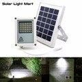 Mini Alpha 180X 35LED 60-230LM 3 Modalità di Alimentazione 5 Metri di Cavo per Esterni Da Giardino In Metallo Energia solare HA CONDOTTO LA Luce di Inondazione