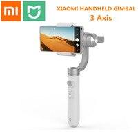 Versão internacional xiaomi mijia sjyt01fm 3 eixos cardan handheld estabilizador com 5000 mah bateria para câmera de ação e telefone|Estabilizador portátil| |  -