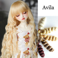 Lolita Wig Hair Doll Accessories Doll Wig For American Doll And BJD Baby Doll Hair 15CM*100CM Wig(China)