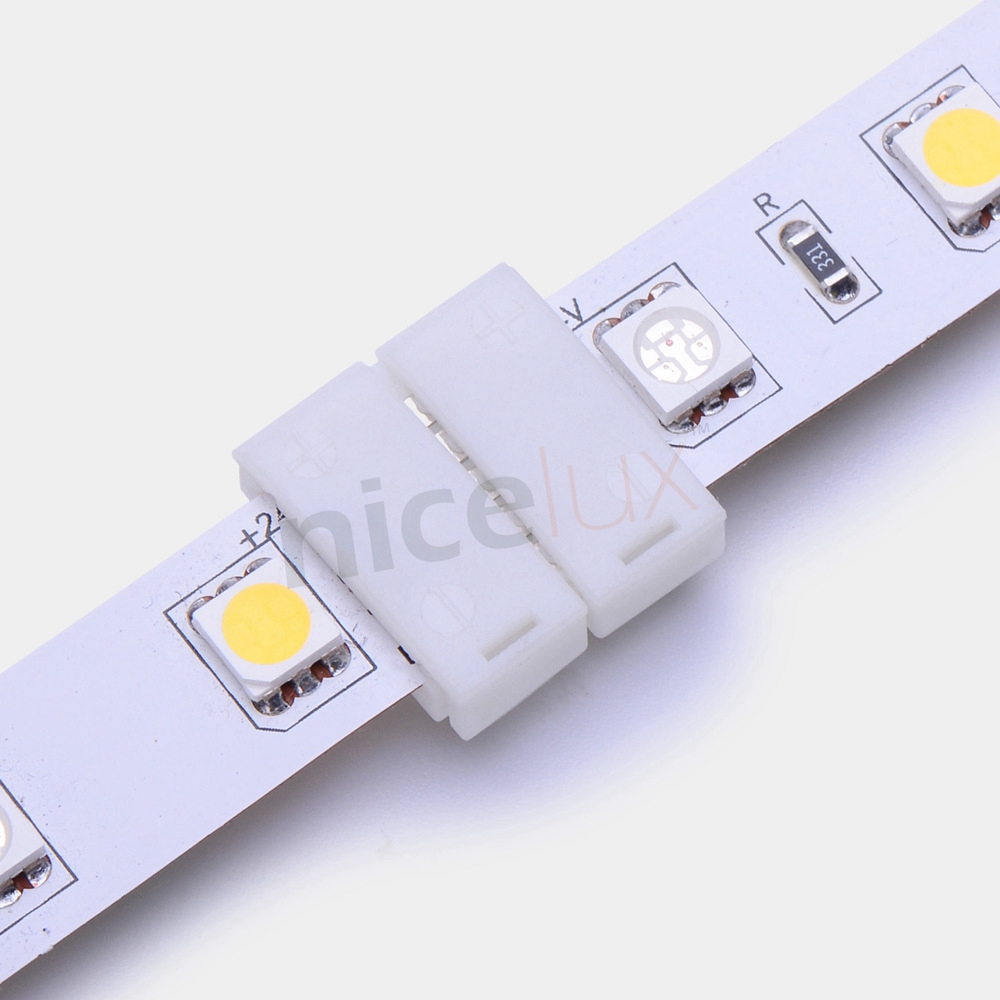 5pcs 2pin 4pin 5pin LED Strip Connector for 8mm 10mm 12mm 3528 5050 5630 RGB RGBW IP20 Non-waterproof LED Strip to Strip Joint