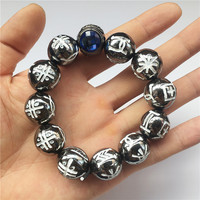 Black Panther Kimoyo Beads Bracelet T'Challa Alloy Metal Cosplay Props Jewelry Women/Men Props Party Accessories Collection Gift