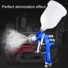 Plastic Paint Spray Gun LVMP High Quality Spray Gun Paint Air Tools for Car Face Paint Various Potions Spraying Clothing Spray sat1178 lmited supply pneumatic air paint sprayer chrome plating spray gun paint lvmp air car painting spray gun