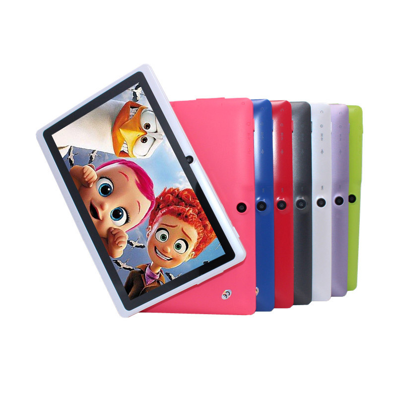 Cheapest Kids Tablet PC 7 inch Q8 A33 Quad core 1024*600 Android 4.4 4GB WIFI Google play special for KidsCheapest Kids Tablet PC 7 inch Q8 A33 Quad core 1024*600 Android 4.4 4GB WIFI Google play special for Kids