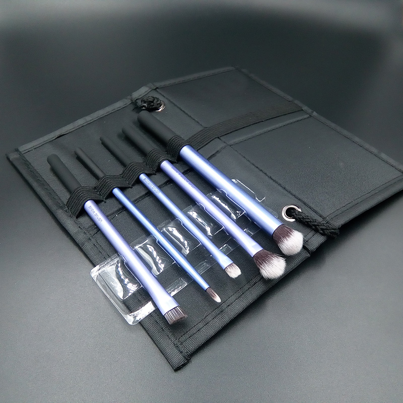 New 5pcs Eyeshadow Eyeliner Lip Brush Starter Kit Makeup Brushes Collection Cosmetic Powder Foundation Tool Beauty I162 2017 new20pcs foundation eyeshadow eyeliner lip brush tool makeup brushes set powder new