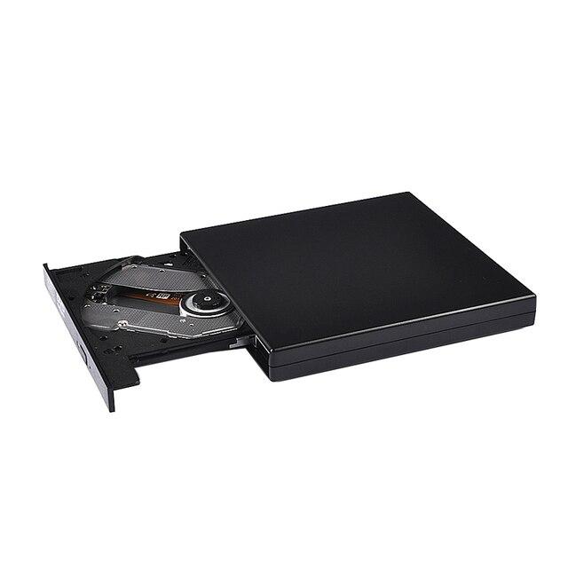 USB2.0 Внешний Оптический привод DVD COMBO CD-RW Встроенная память горелки привода для компьютера MAC ноутбука Тетрадь