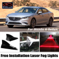 For Mazda 6 Atenza / MPS / Speed Atenza / Mazda6 Ruiyi / Mazdaspeed6 / Free Installation Solar Energy Shark Fin Laser Fog Lamp