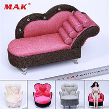 1/6 Scale Figure Scene Accessories Sofa Couch Chair Model Chaise Lounge Figure 9 Styles for 12'' Action Figure Body(China)