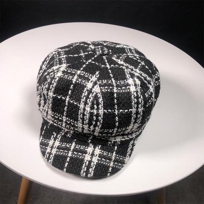 Octagonal Hats Plaid...