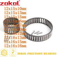 ZOKOL  K1215101215131215151617 K121610121613121615121616 Radial needle roller and cage assembly bearing needle bearings