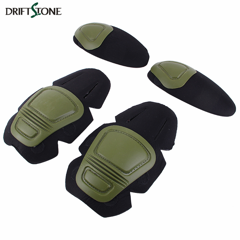 Paintball Airsoft Tactical Knee and Elbow Protector <font><b>Combat</b></font> <font><b>G3</b></font> Protective Uniform <font><b>Pants</b></font> KNEE & ELBOW Pads image