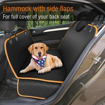 Pet Dog Car Seat Carrier Cover Rear Back Blanket Mat Non-slip Folding Cushion Mat for Dogs Folding Blankets Pet Products 2