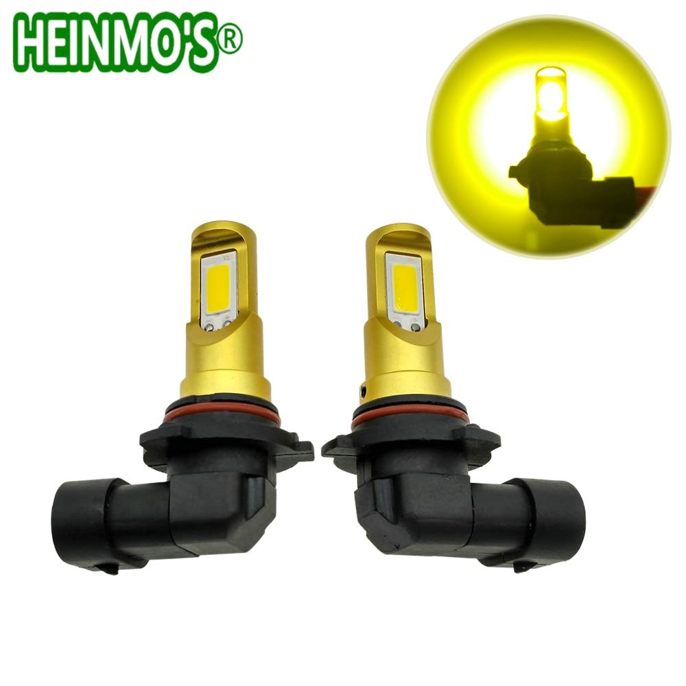 H7 LED Fog lamp Projector H11 COB LED Headlight Bulbs Car LED H4 H1 Headlights Conversion light 9005 9006 Automobile Fog light