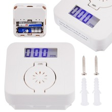 New Mini LCD Photoelectric CO Carbon Monoxide & Smoke Detector Alarm Poisoning Warning Gas Sensor Detectors No Battery
