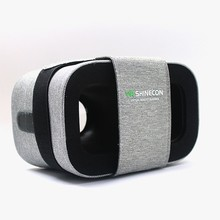 Cdragon 2017 The Hottest Products Foldable VR Glasses 3D Box Helmet VR SHINECON, Mini Virtual Reality Movie Game Headset
