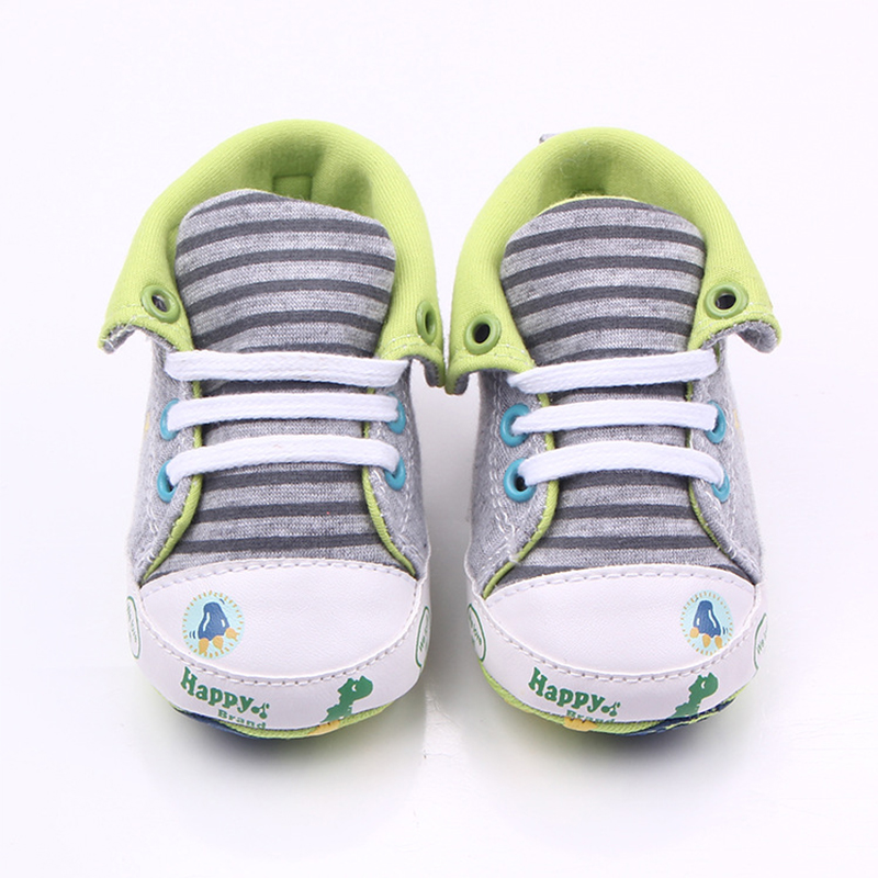 canvas baby boy shoes for 0-12M newborn baby infant crib shoes toddler baby moccasins Footwear for newborns First walkers