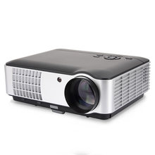 Salange RD806A LED Projector 5000 Lumens 1280x800 720P Beamer Home Theatre HD Projector Option Android 6.0 version(China)