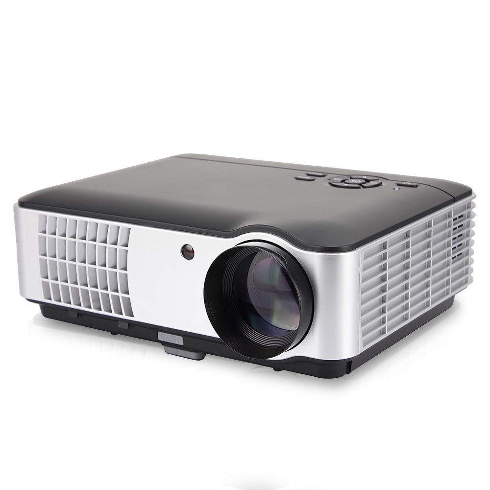Salange RD806A LED Projecteur 5000 Lumens 1280x800 720 p Beamer Home Cinéma HD Projecteur Option Android 6.0 version