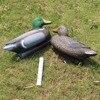 Tourbon Hunting Duck Decoy Vivid Carved Female Male Duck Animal Bait Shooting Equipment