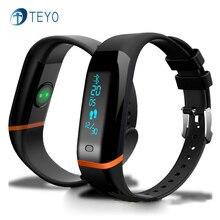 Teyo Smartband X12 Сердечного ритма Сна Монитора Pedometor Сообщение Уведомления Pulsera Inteligente Артериального Давления для Android IOS