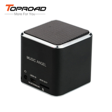 TOPROAD Portable Mini Music Angel Speaker caixa de som Altavoz Stereo MP3 Music Player Speakers Support TF FM Radio for Phones