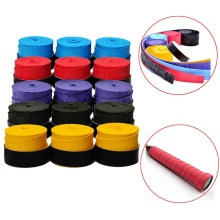 New 2pcs Badminton Overgrip Grip Tap Sweat Absorb Dry Feel Tennis Grip Squash Racket Grips Anti Slip Sweatband Fish Pole Tape