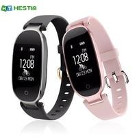 HESTIA S3 Bluetooth Smart Band Bracelet IP67 Waterproof Girl Women Heart Rate Monitor Wrist Watch Smartband