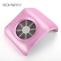 ROHWXY Vacuum Cleaner For Nail Art Extractor Fan Machine For Manicure Nail Dust Collector Manicure Table Nail Salon Tools