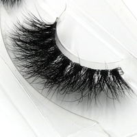 Transparent Stems Hand Mink False Eyelashes 3d Multi Layer Cross Messy Exaggerated Eyelashes Makeup Tool Thick
