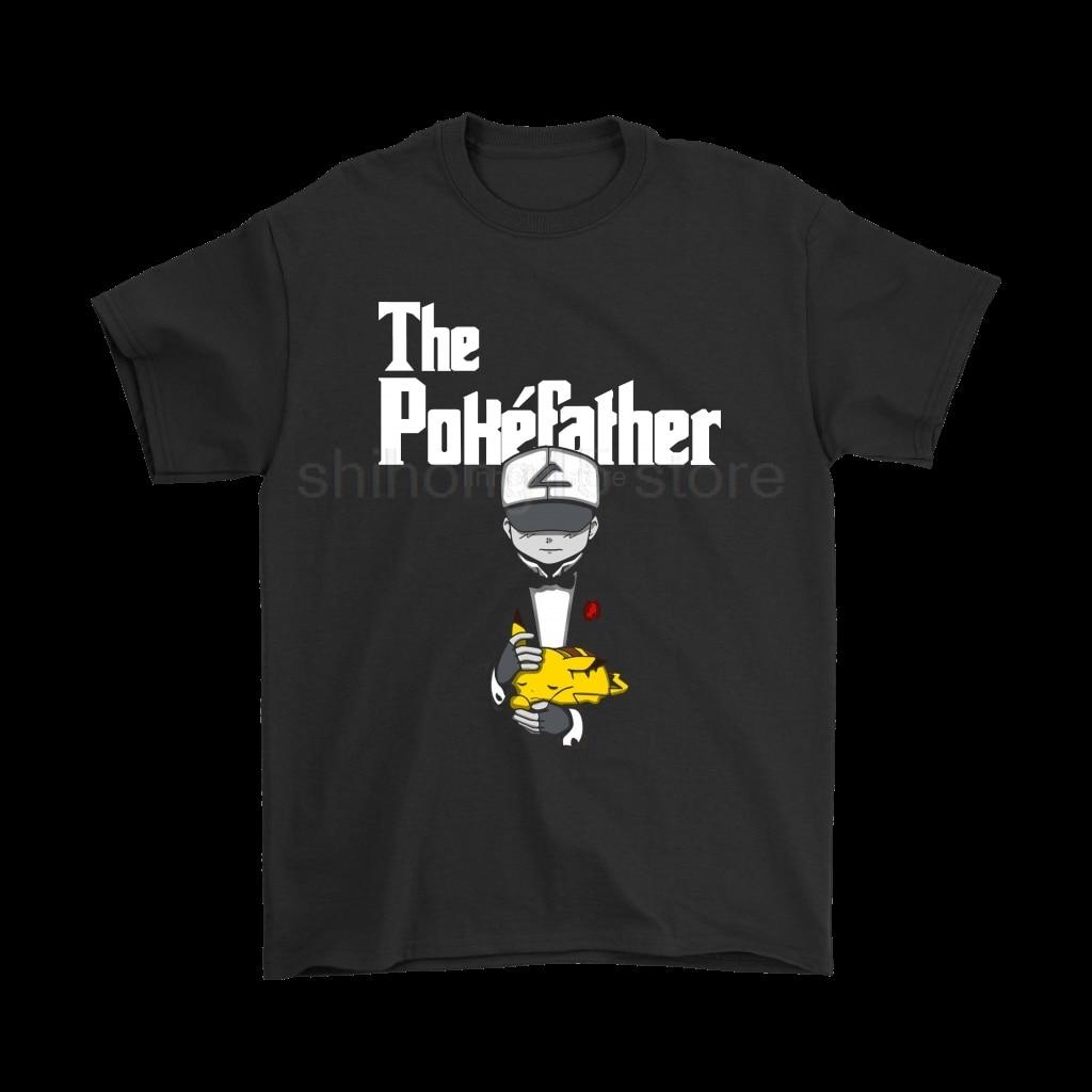 font-b-pokemon-b-font-the-poke'father-the-godfather-mashup-t-shirts-2019-summer-men's-short-sleeve-t-shirt