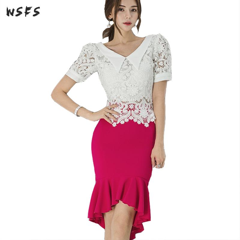 11435bff5f9ef Worldwide delivery 2 piece long lace skirt set women in NaBaRa Online