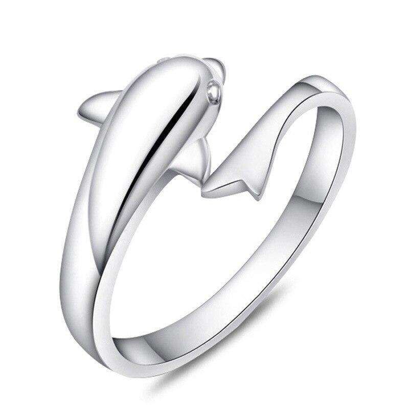 Korea Heißer Stil 925 Sterling Silber Einfache Retro Ethic Zirkon Liebe Crown Offenen Ring Frauen Schmuck Schmuck & Zubehör