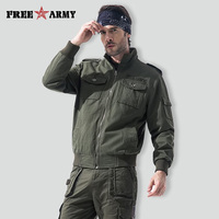 Men Jacket Tactical Softshell Camouflage Outdoors Jacket Set Men Army Sport Waterproof Army Camouflage Coat MS76006