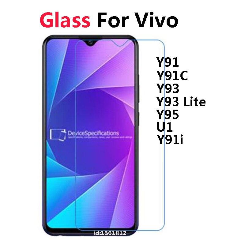 Vivo U1 Y91i Y93 Y95 Lite Tempered Glass 9H High Quality Protective Film Explosion-proof Screen Protector For Vivo Y91 Y91C