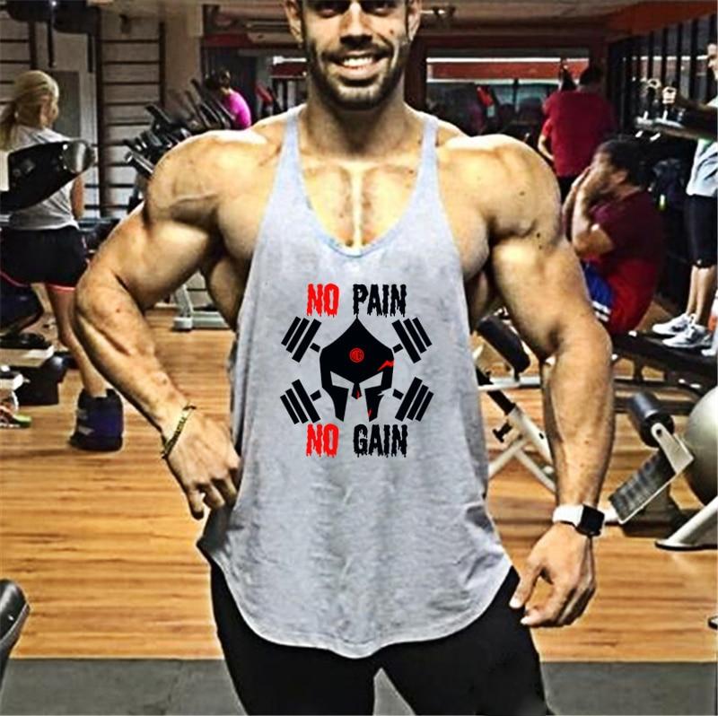 iLXHD Mens Vest Casual Slim Sleeveless Gym Bodybuilding Stringer Tank Top T Shirt Top Blouse