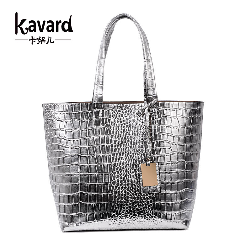 Casual Tote Crocodile Alligator Beach ladies hand font b bag b font spanish font b brand