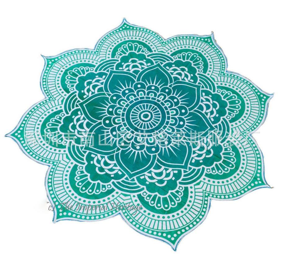Hot summer szyfonowa wall hanging tapestry koc ręcznik plażowy duży mediter flora miękkie narzuta yoga mat obrus home decor 3