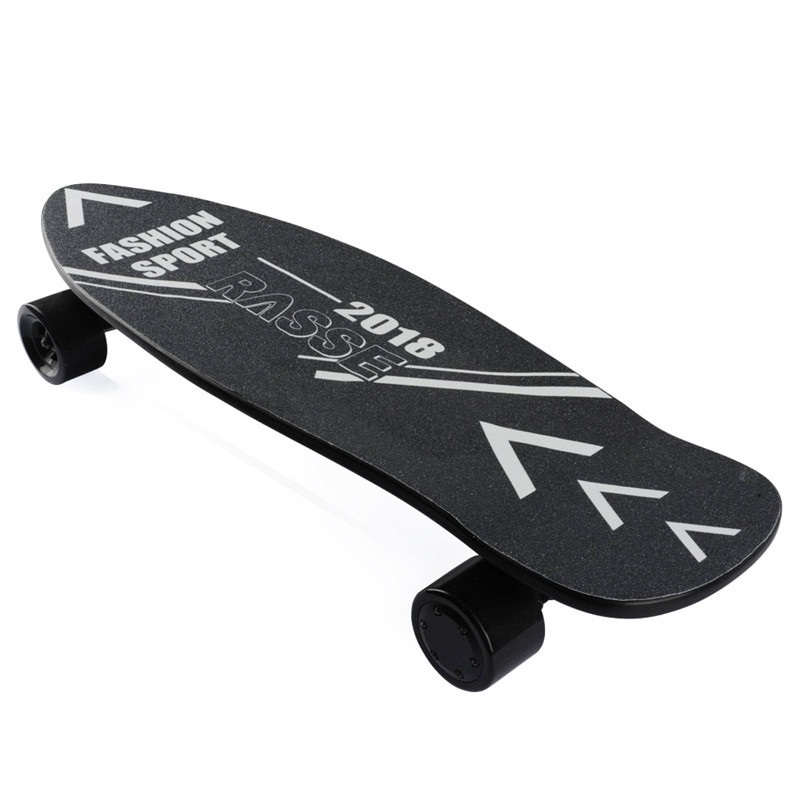 4 Wheel <font><b>Electric</b></font> Skateboard Onyx <font><b>Electric</b></font> Longboard Hub Motor Skateboarding 2nd Gen Upgraded Electrico Hoverboard image