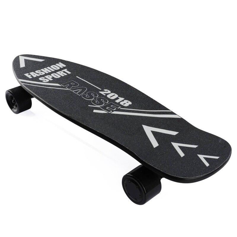 Planche à roulettes électrique 4 roues Onyx Longboard électrique double moyeu moteur Skateboard 2nd Gen mis à niveau Hoverboard électrique