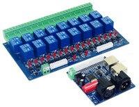 الجملة 16CH التتابع التبديل dmx512 تحكم ، تتابع الإخراج ، 16way RGB led قطاع DMX التتابع (ماكس 10A) ، عالية الجهد led أضواء مصباح-في تحكم RGB من مصابيح وإضاءات على