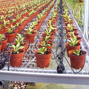Image 2 - 4 rami Curvo Freccia Sistema di Irrigazione del Giardino di Irrigazione Automatica Bent Arrow Dripper Strumenti di Giardinaggio e Attrezzature 20 Set