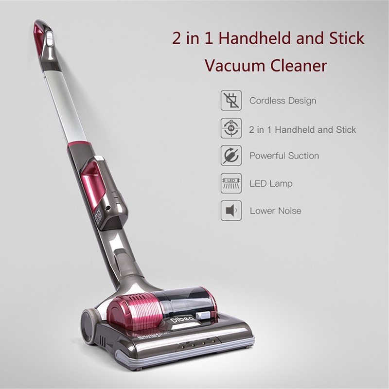 Dibea C01 Upright Wireless Vacuum Cleaner 2-in-1 Powerful Car Cordless Handheld Vacuum Cleaner for Home Cleaner Sweeping Machine порно