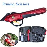 Электрический секатор инструмент садовые ножницы (полный набор инструментов ножницы для сада и садов) SCA1
