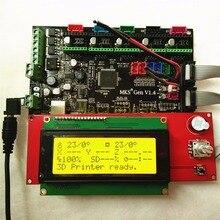 МКС Gen V1.4 материнская плата + LCD2004 панели DIY Beginer комплект RAMPS1.4 MEGA2560 плата все в них коссель комплекты