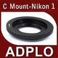 Pixco adaptador de montaje traje para 16 mm C Mount película lente a Nikon 1 AW1 J2 J3 J1 S1 V2 V1 cámara
